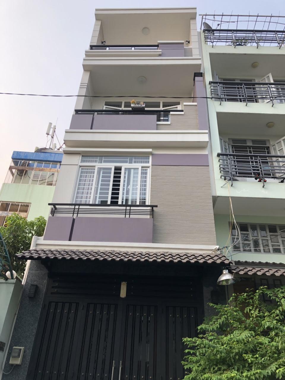 Bán nhà hẻm 10m Trương Công Định, P.14, Tân Bình; nhà 3 lầu, tặng nội thất cao cấp